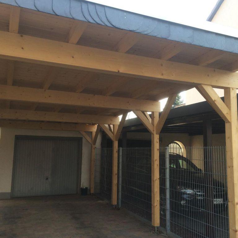Zimmerei Carport: Zimmererarbeiten, Holzbau, Carports, Vordächer
